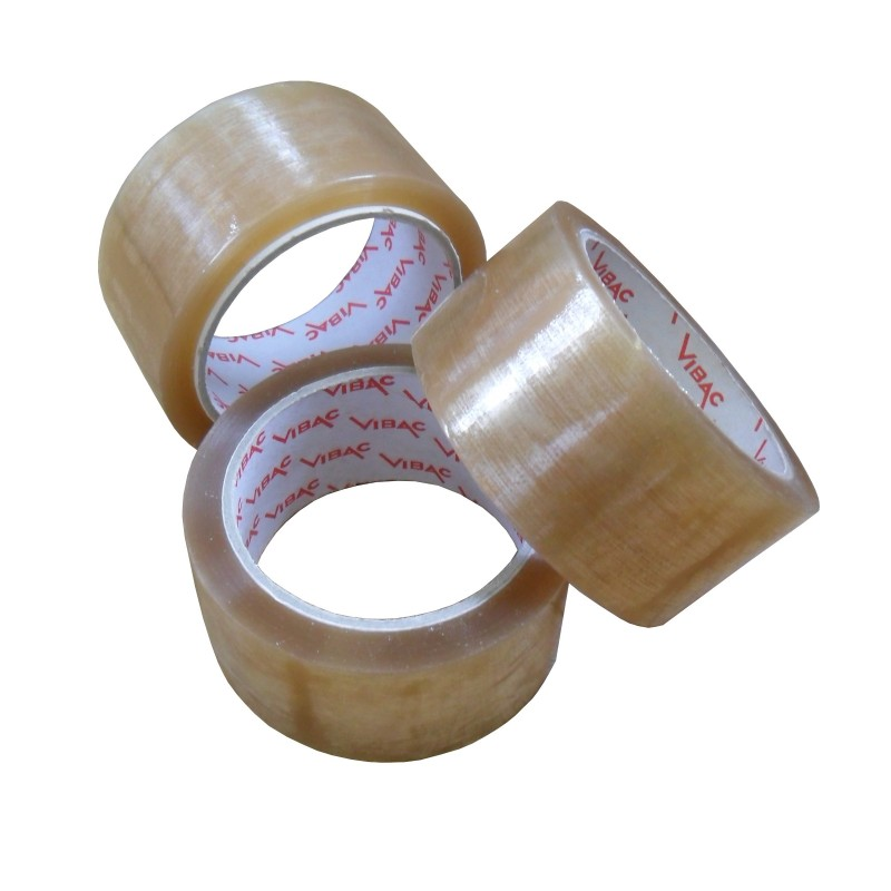 Vibac #425 or #426 Sealast Tan - Hot Melt Carton Sealing Tape